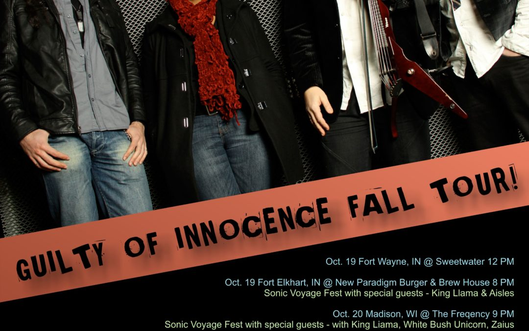 JOE DENINZON & STRATOSPHEERIUS GUILTY OF INNOCENCE FALL TOUR